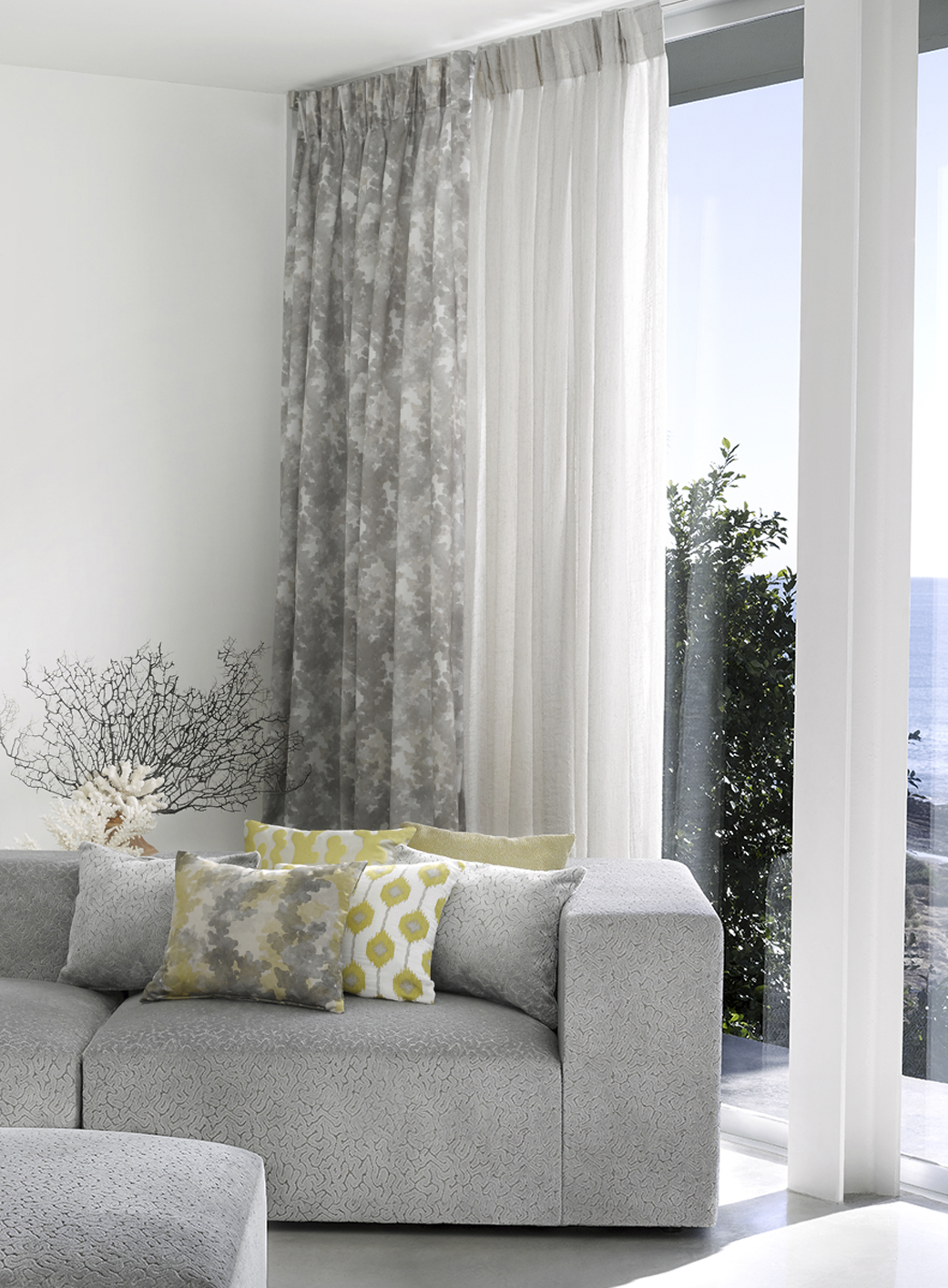 living room curtains Spain - Costa Blanca