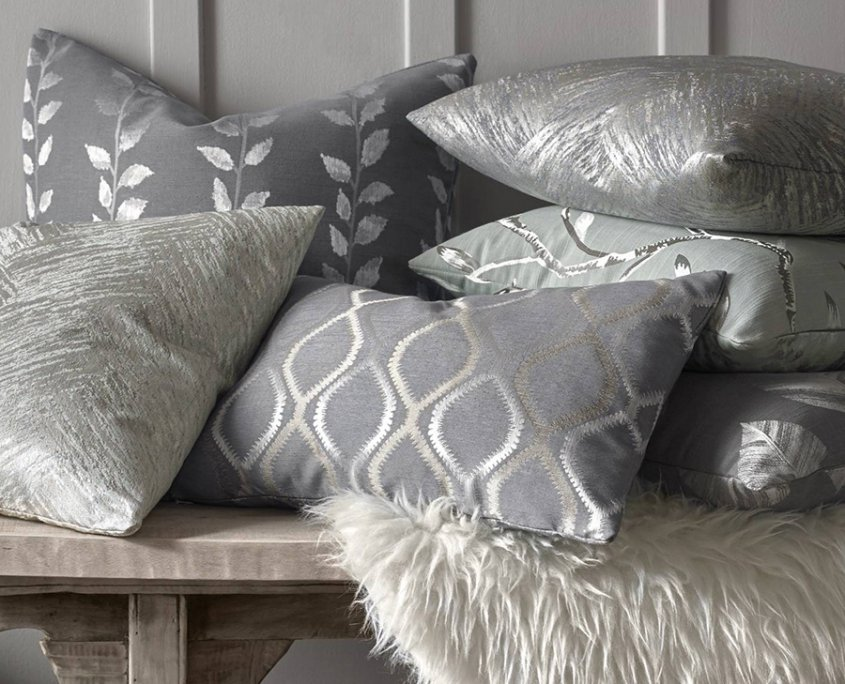 Coordinating bespoke cushions